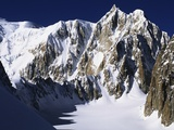 Mont Maudit in the French Alps Photographic Print by S. Vannini