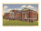 Woman's College of UNC, Greensboro, North Carolina Prints