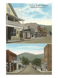 Business District, Black Mountain, North Carolina Prints