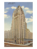 Fisher Building, Detroit, Michigan Print