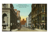 Baltimore Avenue, Kansas City, Missouri Prints