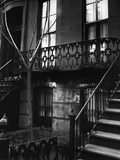 Brownstone in the Fifties, Manhattan 1947 Fotografie-Druck von Brett Weston