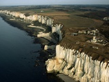 Les Falaises Chalk Cliffs Photographic Print by Roger Ressmeyer