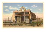 Old Church Cochiti Pueblo, New Mexico Prints