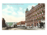 Higgins Avenue, Missoula, Montana Print