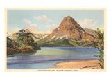 Two Medicine Lake, Glacier Park, Montana Poster