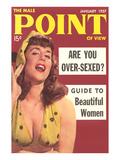 Men's Pulp Magazine Cover Art