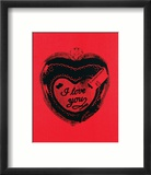 Heart, c.1984 Affiches par Andy Warhol