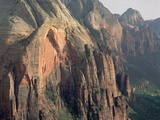 Sandstone Cliffs in Zion Canyon Photographic Print by Tom Bean