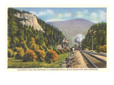 Elephant's Head, Crawford Notch, New Hampshire Posters