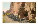 Cliff Ruins, Bandolier Park, New Mexico Prints