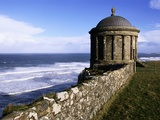 Mussenden Temple in Downhill Estate Photographic Print by S. Vannini