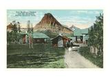 Two Medicine Chalets, Glacier Park, Montana Kunstdrucke