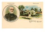 Verdi and Birthplace - Poster
