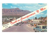 Greetings from Truth or Consequences, New Mexico Posters