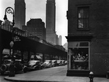 Manhattan Street Photographic Print by Brett Weston