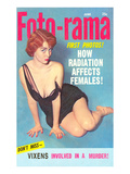 Men&#39;s Pulp Magazine Cover Poster