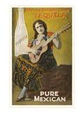 Pubblicità della tequila Poster