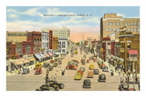 Broadway, Fargo, North Dakota Prints