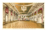 Interior, Book-Cadillac, Detroit, Michigan Prints