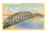 MacArthur Bridge, St. Louis, Missouri Poster