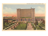 Michigan Central Station, Detroit, Michigan Print