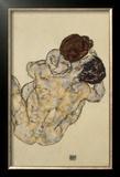 Umarmung (Embrace), 1917 Framed Giclee Print by Egon Schiele
