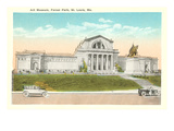 Art Museum, St. Louis, Missouri Poster
