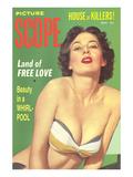 Men's Pulp Magazine Cover Prints