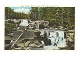 Diana's Bath, White Mountains, New Hampshire Art