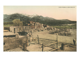 Taos Pueblo, New Mexico Prints