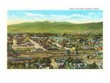 View over Missoula, Montana Art