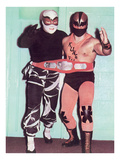 Championship Wrestling Tag Team Prints