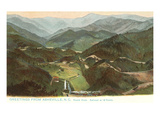 Round Knob, Asheville, North Carolina Prints