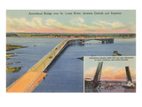 Arrowhead Bridge, Duluth, Minnesota Prints
