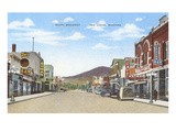 South Broadway, Red Lodge, Montana Kunstdruck