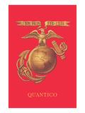 USMC Emblem, Quantico Print