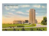 State Capitol, Bismarck, North Dakota Poster