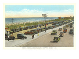Ocean Avenue, Hampton Beach, New Hampshire Prints
