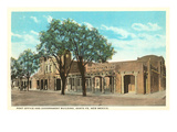 Post Office and Government Building, Santa Fe, New Mexico Prints