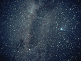 Halley&#39;s Comet in the Southern Sky Photographic Print by Roger Ressmeyer