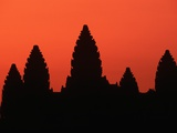 Angkor Wat at Sunrise Photographic Print by Nevada Wier
