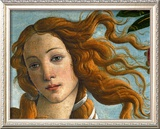 The Birth of Venus (Head of Venus), 1486 Framed Giclee Print by Sandro Botticelli
