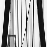 Bridge Towers Photographic Print by Brett Weston