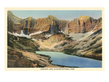 Cracker Lake, Glacier Park, Montana Prints