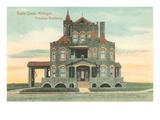 Penniman Residence, Battle Creek, Michigan Art