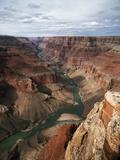 Colorado River Flowing Through Marble Canyon Lámina fotográfica por Bean, Tom