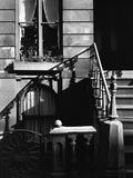 Stairway Bannister With Diagonal Shadow, Manhattan, 1944 Photographic Print by Brett Weston