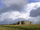 Palace Ruins in Castlerock Fotodruck von S. Vannini