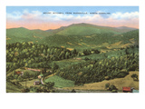 Mt. Mitchell, Burnsville, North Carolina Poster